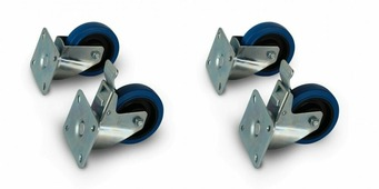 """PreSonus CASTER WHEEL KIT колёса 4"""" для сабвуферов ULT18 или CDL18, 2 обычных и 2 со стопором"""