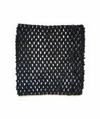 Ткань Caramelkalife Топ-резинка, размер 15*15 см. Цвет Черный.