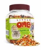 Лакомство Little One Vegetable Mix Овощная Смесь для всех грызунов, 150г