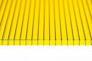 Поликарбонат сотовый Polynex Желтый 4 мм