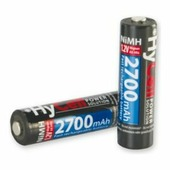Аккумуляторы 2AA 2700mAh HyCell Ansmann