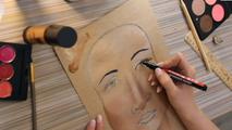 Визажное моделирование лица