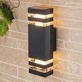 Уличный настенный светильник 1449 1449 TECHNO черный