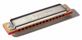 Губная гармошка Hohner MARINE BAND 365/28 C M36501