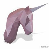 Полигональная фигура PAPERRAZ Единорог Зефир