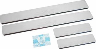 """Накладки внутренних порогов """"DolleX"""", для MAZDA CX-5, 4 шт"""