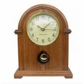 Часы кварцевые Adler арт. 22019 (орех)