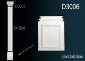 Лепнина Перфект Пилястра D3006