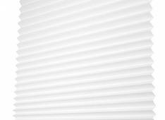 Бумажные шторы плиссе Redi Shade легкий светофильтр белые 91х182