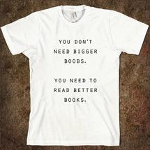 Футболка Dream Shirts Boobs books