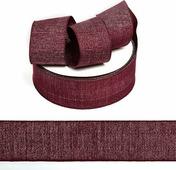 Тесьма киперная металлизированная Ideal, TBYT24, красный, 40 мм х 22,85 м