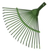 Грабли веерные ленточные металлические без черенка