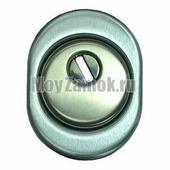 Защита цилиндра DiSec MONOLITO Diamant (MA3887D1+KT056+A1561) для цилиндров EVVA, матовый хром