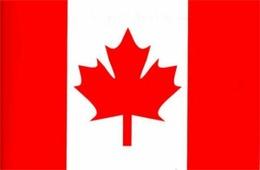 Флаг Канады (размер 60х120)