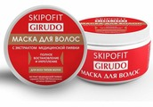 Skipofit Girudo Маска для волос, с экстрактом медицинской пиявки, 250 мл