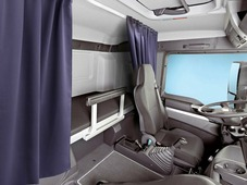 Комплект автоштор Эскар Blackout - auto SK, темно - синий, 2 шторы 120 х 160 см, гибкий карниз 3 м