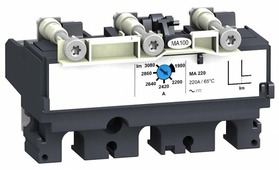 429120 MA100 Электромагнитный расцепитель 3-полюсный 100А для NSX100-250 Schneider Electric, LV429120