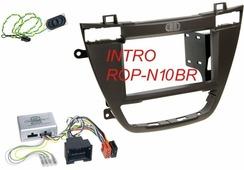 Переходная рамка для установки магнитолы Intro ROP-N10BR - Переходная рамка Opel Insignia
