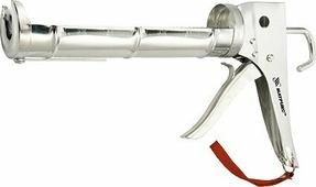 """Пистолет для герметика """"Matrix"""", полуоткрытый, зубчатый шток 7 мм, 310 мл"""