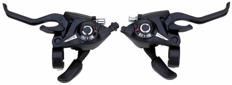 Манетки+тормозные ручки Vinca sport KD 80 3SI/8SI