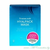 JAPAN GALS Premium grade Маска для лица, курс 12шт, Суперувлажнение | 12шт | Premium grade Hyalpack mask, 12P