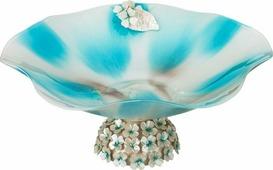 Декоративная чаша Lefard, 316-1053, бирюзовый, 35 х 35 х 15 см