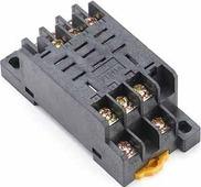 Дополнительное оборудование к реле РР102-3-10 Розетка для реле 3 контакта 10А DEKraft Schneider Electric