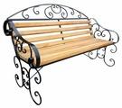 Скамейка для дачи №4