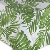 Скатерть Guten Morgen Листья, зеленый, 140 х 150 см