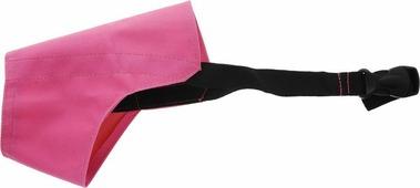 """Намордник для собак ЗооМарк """"№1"""", цвет: розовый, черный 12 см"""