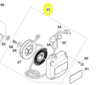 Стартер в сб. DBC340/DBC400 (387160301) MAKITA 387160301