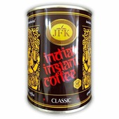 Кофе CLASSIC Indian Instant Coffee Powder, JFK (Кофе растворимый, порошкообразный, Инстант классик), 100 г.