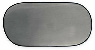 Шторка солнцезащитная 100х50 на заднее стекло автомобиля (1 шт), OLMIO