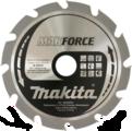 Пильный диск для дерева MAKFORCE, 190x30/20/15.88x1.4x12T, MAKITA