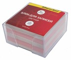 "Блок для записей Silwerhof ""Эконом"", цвет: мультиколор, 9 х 9 х 4,5 см. 701015"