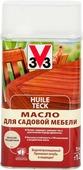 """Масло для садовой мебели """"V33"""", цвет: прозрачный, 1 л"""