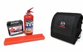 Набор аварийный в органайзере Auto Premium Mazda, 77423, черный, 30 х 25 х 25 см