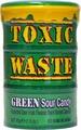 Леденцы TOXIC Waste, зеленая банка, 42 г