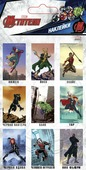 Набор наклеек Marvel Мстители 3Д