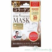 JAPAN GALS Pure 5 Essence Маска для лица, курс 30шт, с коллагеном | 30шт | Pure 5 Essence Mask, Collagen, 30P