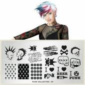 Пластина для стемпинга MoYou London Punk 07
