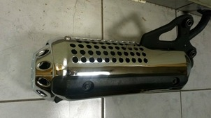 глушитель HONDA Dio AF-34, AF-35, ZX хром