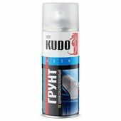 Грунт-наполнитель KUDO, 1К, цинконаполненный, аэрозоль, 520 мл