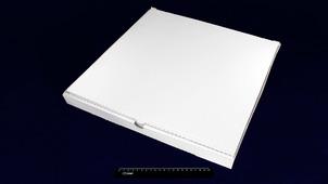 Коробка под пиццу 450*450*40 белая.9022/146rm