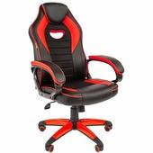 Кресло CHAIRMAN Game 16 (черный/красный)