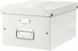 Leitz Короб архивный Click-n-Store размер M (A4) цвет белый