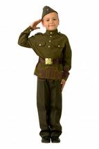 Детский костюм солдата