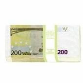 "Конверт для денег Эврика ""200 евро"", 10 шт"