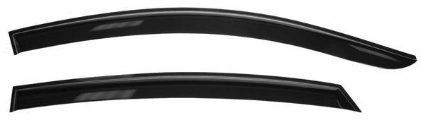 """Дефлекторы окон Voron Glass """"Samurai"""", для седана Hyundai Solaris 2011-, 4 шт"""