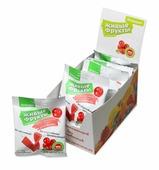 """Фруктово-ягодные снэки """"Живые фрукты"""" на фруктозе клюквенные Шоубокс 10 шт"""